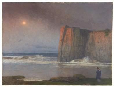Jakob Schikaneder (Czech 1855-1924), , The Calm Sea,