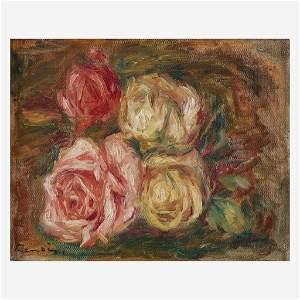 Pierre-Auguste Renoir (French, 1841–1919), , Roses