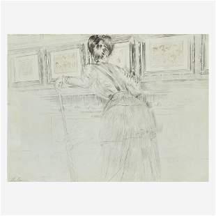 Paul César Helleu (French, 1859–1927), , Madame Helleu