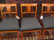 194: Set of six Neo-classical style satinwood chairs, ,