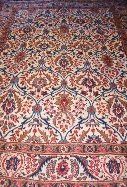 537: Tabriz carpet, northwest Persia, c. 1940-50,