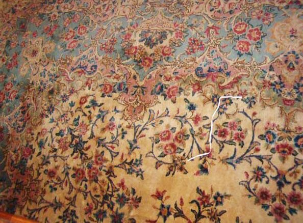 538: Kerman Carpet, southeast Persia,