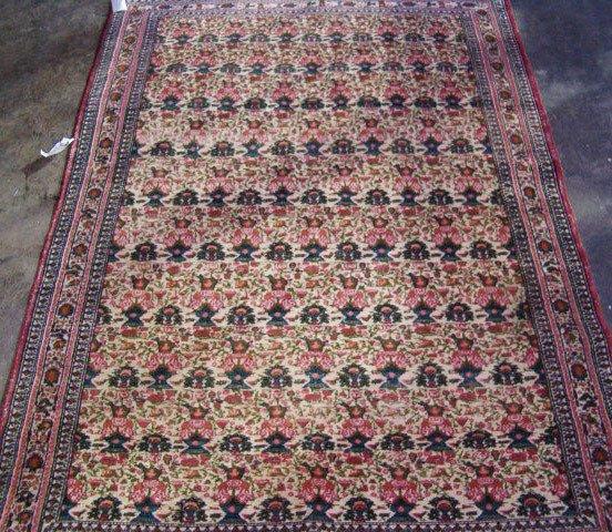 540: Indian zili sultan design rug, 20th c.,