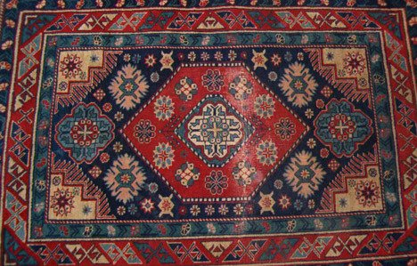 543: Russian rug, c. 1930-40,