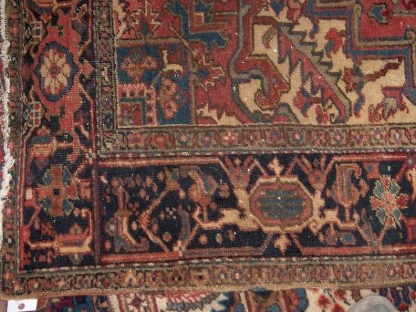 544: Heriz Rug, northwest Persia,