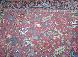 548: Heriz carpet, nothwest persia c. 1940-50,