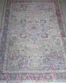 552: Kermanshah rug, 19th Century,