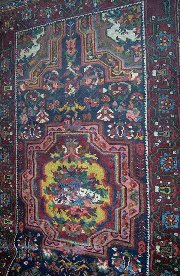 553: Baktari corridor carpet, c. mid 20th,