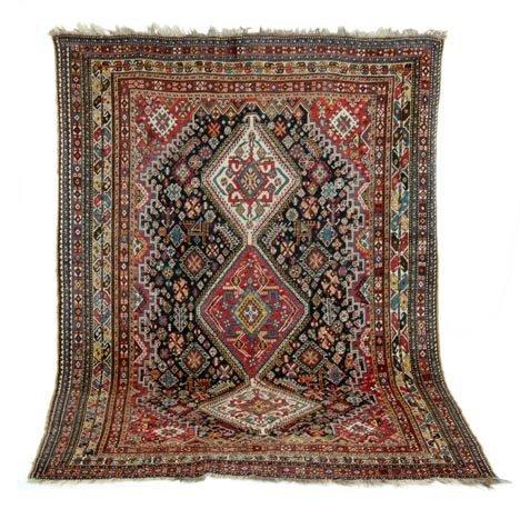 556: Heriz rug, northwest perisa, c. mid 20th century,
