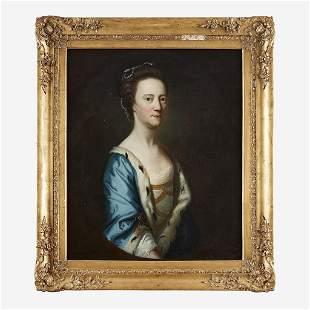 English School 18th century Portrait of Lady Elizabeth