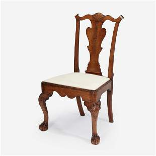 A Chippendale carved walnut side chair Philadelphia,
