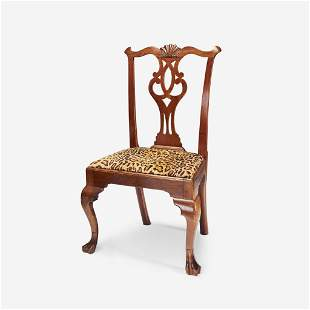 A Chippendale walnut side chair Delaware Valley, circa