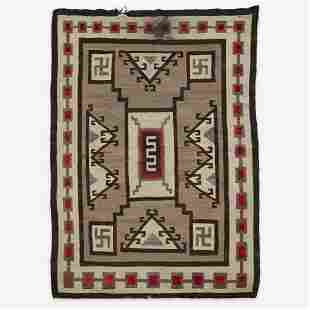 A Navajo rug Attributed to J.B. Moore, Crystal, New