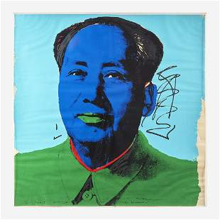 Andy Warhol (American, 1928-1987) Mao