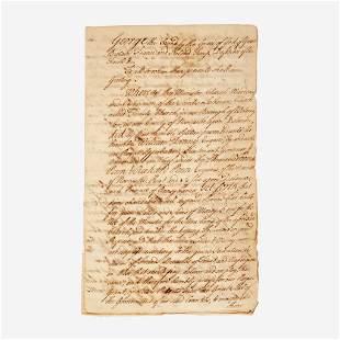 [Autographs & Manuscripts] [Delaware] Mini-Archive
