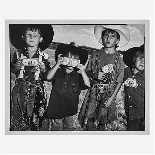 [Photography] Mark, Mary Ellen Boys with Dollars,