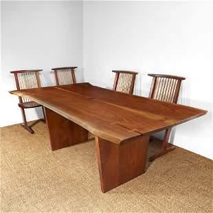 "George Nakashima Fine ""Minguren III"" Desk or Table, New"