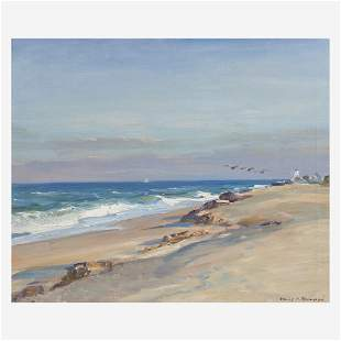 Emile Albert Gruppe (American, 1896–1978) Beach