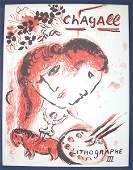 5211 1 vol Chagall Marc Chagall Lithographe 1962