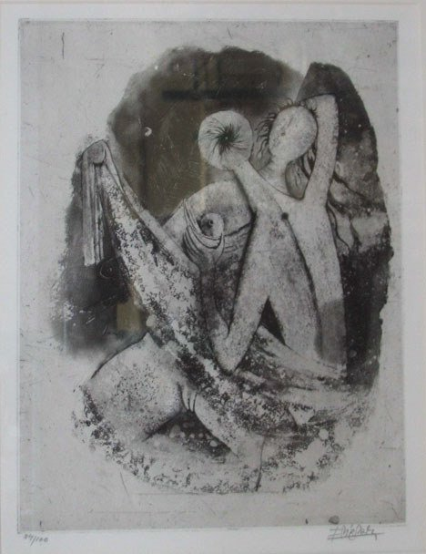 158: JOHNNY FRIEDLAENDER (german 1912-1992) folio of th