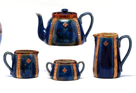 1009: Royal Doulton Christine Abbot tea set, , Tea set