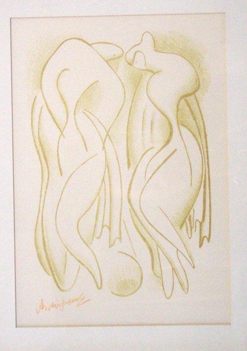 4: ALEXANDER ARCHIPENKO (American 1887-1964)