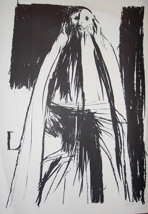 13: LEONARD BASKIN (American 1922-2000) PATRI