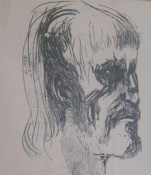 17: LEONARD BASKIN (American 1922-2000) MASAC