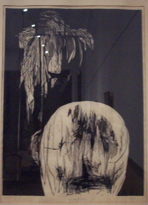 21: LEONARD BASKIN (American 1922-2000) TORME