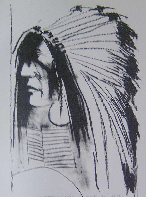 24: LEONARD BASKIN (American 1927-2000) SWIFT