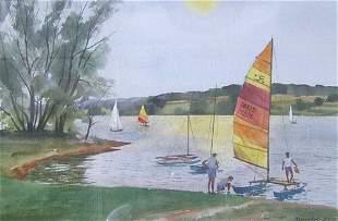 RANULPH BYE (American b. 1916) LAKE GALENA