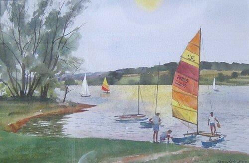 1: RANULPH BYE (American b. 1916) LAKE GALENA