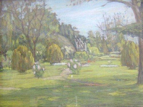 20: BORIS KUBLANOV (American b. 1894) SUMMER