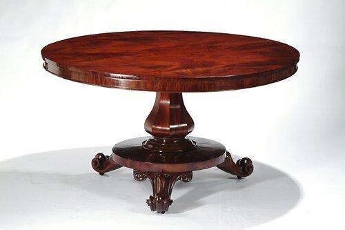 17: EARLY VICTORIAN MAHOGANY BREAKFAST TABLE