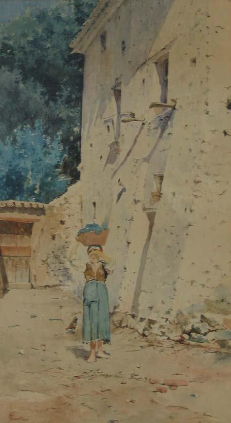 6: FRANCESCO RAFFAELLO SANTORO  (italian 1844-1927) MAI