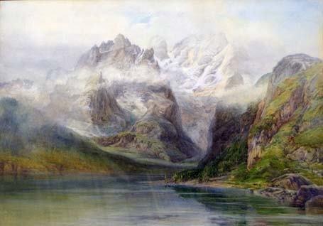 8: SAMUEL THOMAS GEORGE EVANS (british 1829-1904) MONTE