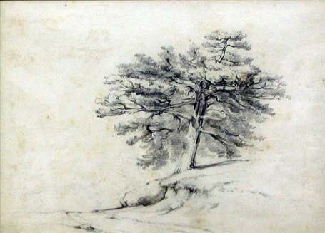 21: XANTHUS RUSSELL SMITH (american 1839-1929) TREE AND