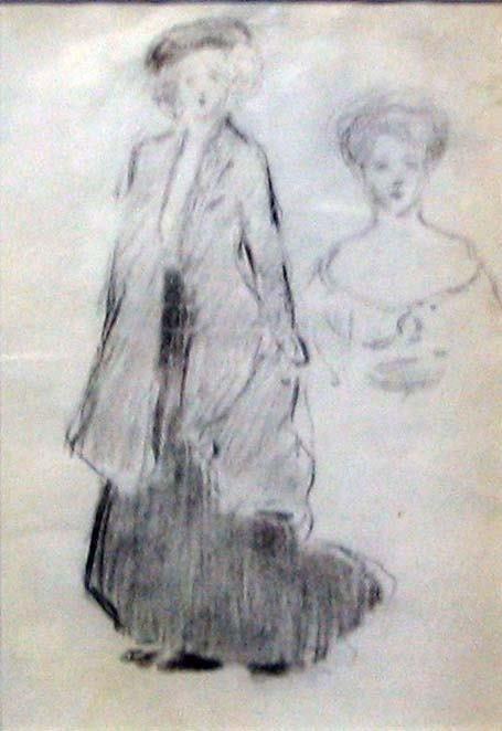 24: ARTHUR B CARLES (american 1882-1952) TWO WOMEN ca 1