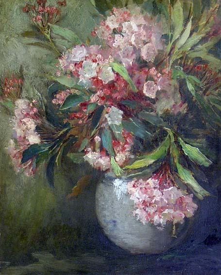 142: MATILDA BROWNE (american 1869-1947) VASE OF FLOWER