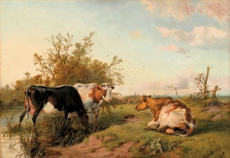 2022: THOMAS SIDNEY COOPER (british 1803-1902)  CATTLE