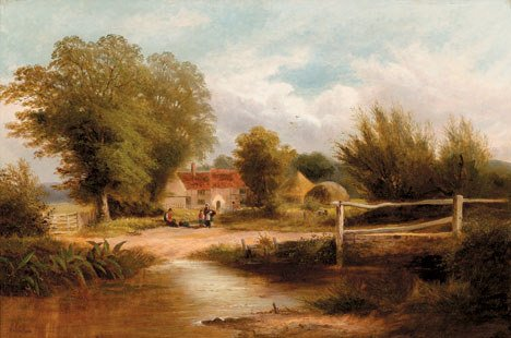 2024: FREDERICK WILLIAM HULME (british 1816-1884) FARM