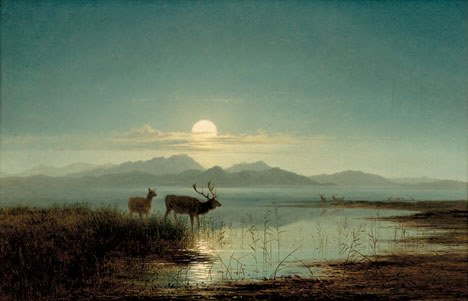 2025: ARTHUR GILBERT (british 1819-1895) STAG WATERING