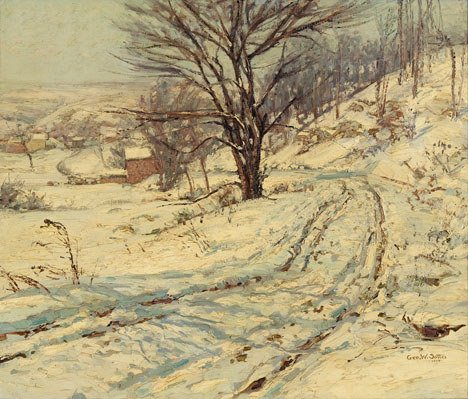 2192: GEORGE WILLIAM SOTTER (american 1879-1953) ROAD-W