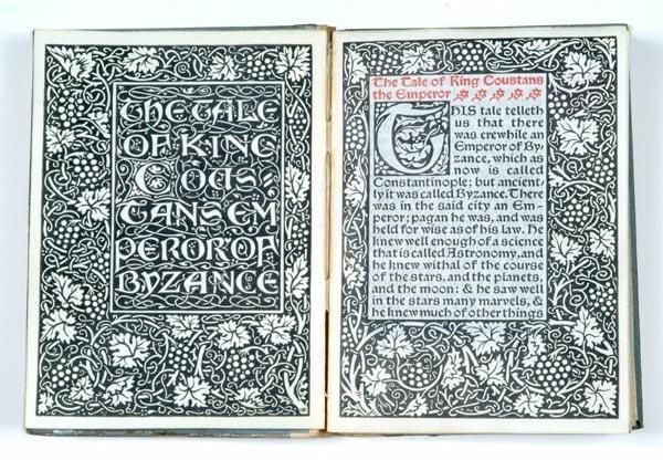 188: (Kelmscott Press.) The Tale of the Empe