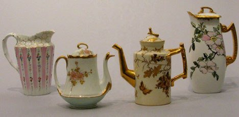 8: A collection of French porcelain, 19th and 20th cent