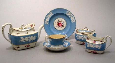 11: Spode partial porcelain tea service, early 20th cen
