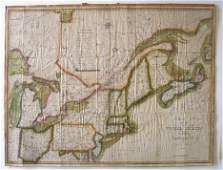 1 piece. Hand-Colored Engraved Map. Melish, John.