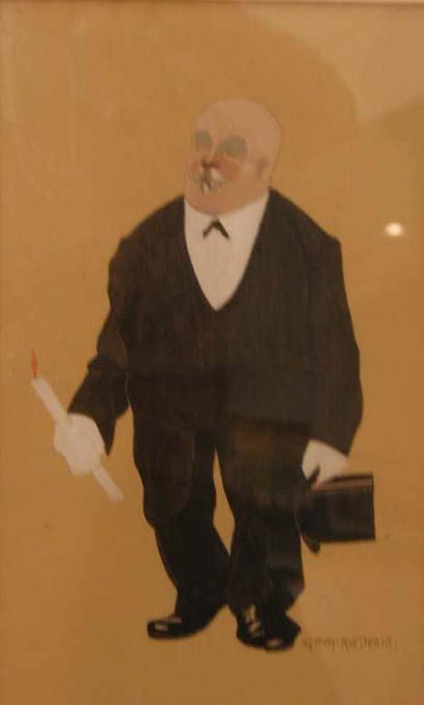 4004: HERMANN GROM ROTTMAYER (austrian 1877-1953) FIGUR