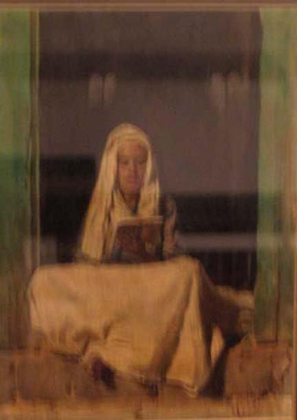 4015: C* BISO (italian 20th century) READING IN THE DOO