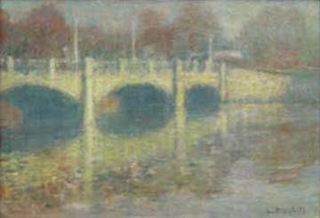 4096: LAURENCE A CAMPBELL (american b 1940) THE BRIDGE